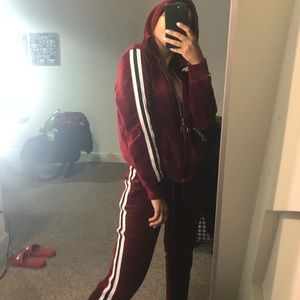 Other - Burgundy tracksuit